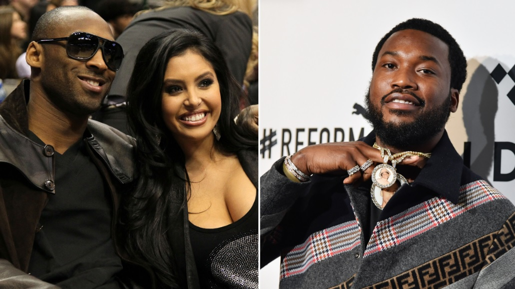 Vanessa Bryant Calls Out Rapper Meek Mill Over 'Disrespectful' Kobe Bryant Helicopter Lyric