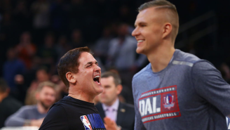 Mark Cuban Upset With Kristaps Porzingis Trade Rumors, Says Reports Are 'Not Accurate'