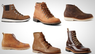 Save Up To 40% Right Now On These Rugged And Stylish Leather Boots In This Winter Sale