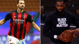 Soccer Superstar Zlatan Ibrahimovic Takes A Shot At LeBron James By Saying He Should Stay Out Of Politics 'Do What You're Good At'