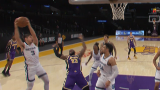 NBA Fans Blast LeBron James For Committing One Of The Worst Flops Of The Year Vs Grizzlies