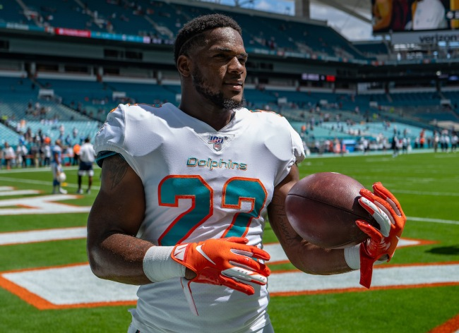 Former NFL RB Mark Walton was arrested outside a Pizza Hut after beating up his cousin following a dispute over an online order