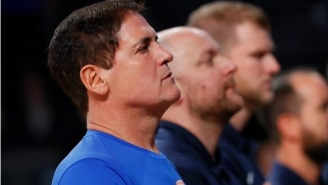Mark Cuban Reportedly Stopped Playing National Anthem At Mavs Games Because 'Many Feel Anthem Doesn't Represent Them'