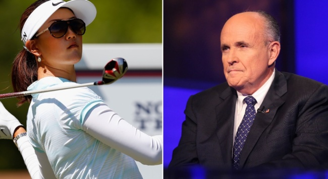 Michelle Wie blasts Giuliani for 'panties' comment