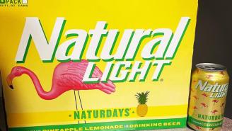 Natty Light Quietly Releases A New Naturdays Beer – Pineapple Lemonade