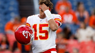 Chiefs Dodged A Serious Bullet With That Barber's Positive COVID Test, 'Cause Patrick Mahomes Was In Line For A Trim