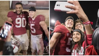 Nerd Alert! Solomon Thomas Claims Stanford Students Didn't Even 'Budge' Seeing Christian McCaffrey On Campus