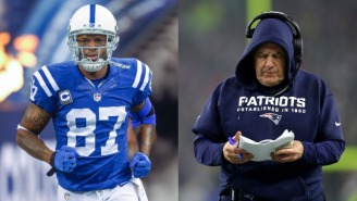 Reggie Wayne Was 'Blown Away' When Bill Belichick Played Him In A Meaningless Preseason Game During Stint With Patriots