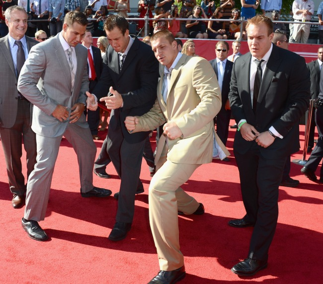Rob Gronkowski's dad details how wild it was raising five sons in one household