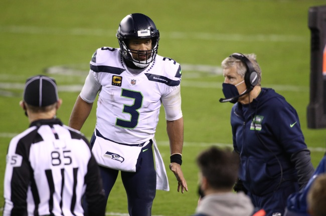 The Seahawks and Russell Wilson continue to have drama, with the QB reportedly storming out after his offensive ideas were dismissed.