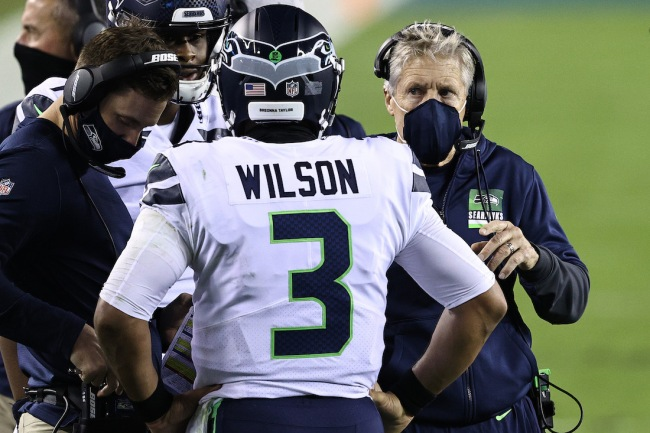 Seahawks QB Russell Wilson seems irritated with the team this NFL offseason, and that should worry fans
