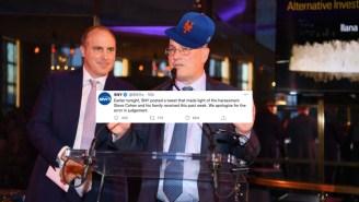 New York Mets TV Channel Apologizes For Making Tasteless Joke About Steve Cohen's Family