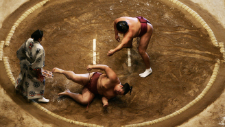 U.K. Celebs Are Getting Fat For A Sumo Wrestling Reality Show And It Needs To Come To America A.S.A.P.