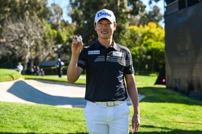 golfer wins car hole in one genesis invitational tae hoon kim