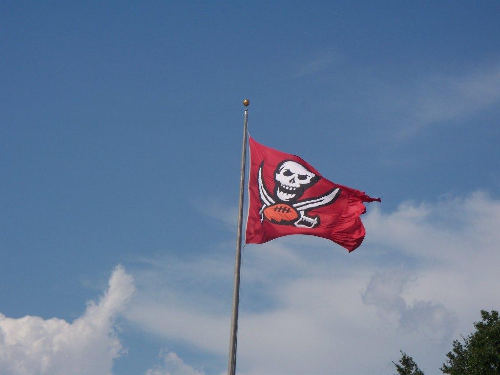 Tampa Bay Buccaneers pirate flag