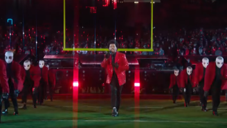 Everyone Had The EXACT Same Joke About The Weeknd's Halftime Performance – And What's Up With The Bandages?