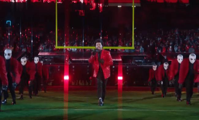 The Weeknd Super Bowl Halftime Show - dancers bandages
