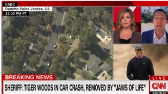 CNN's Andy Scholes Blasted By Viewers For Saying He Wasn't 'Surprised' About Tiger Woods' Car Crash