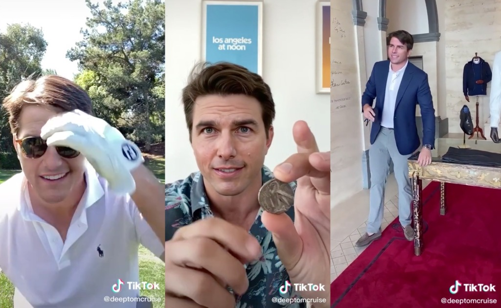 Tom Cruise TikTok deepfakes