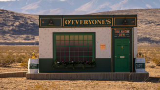 Tullamore Dew Built An Irish Pub In The Middle Of The Mojave Desert For St. Patrick's Day