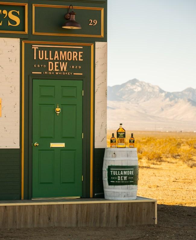 tullamore dew desert bar