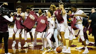 Texas State's Coach Surprising His Team After Winning The Sun Belt Is Everything Great About College Sports