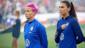 USWNT 'Ready To Move Past The Protesting Phase' As It Stands For National Anthem Ahead Of Brazil Match