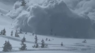 Utah Snowmobilers Share Unbelievable Video Of Massive Avalanche Crushing Them