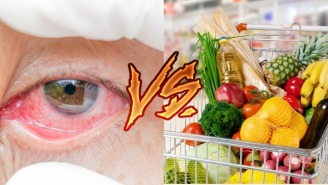 Would You Rather Get Pink Eye Or Abandon A Full Shopping Cart? This Woman Made Her Choice
