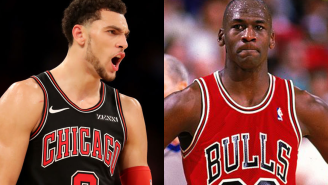 One Stat About Zach LaVine's Impressive Scoring Month Proves Michael Jordan Is The G.O.A.T.