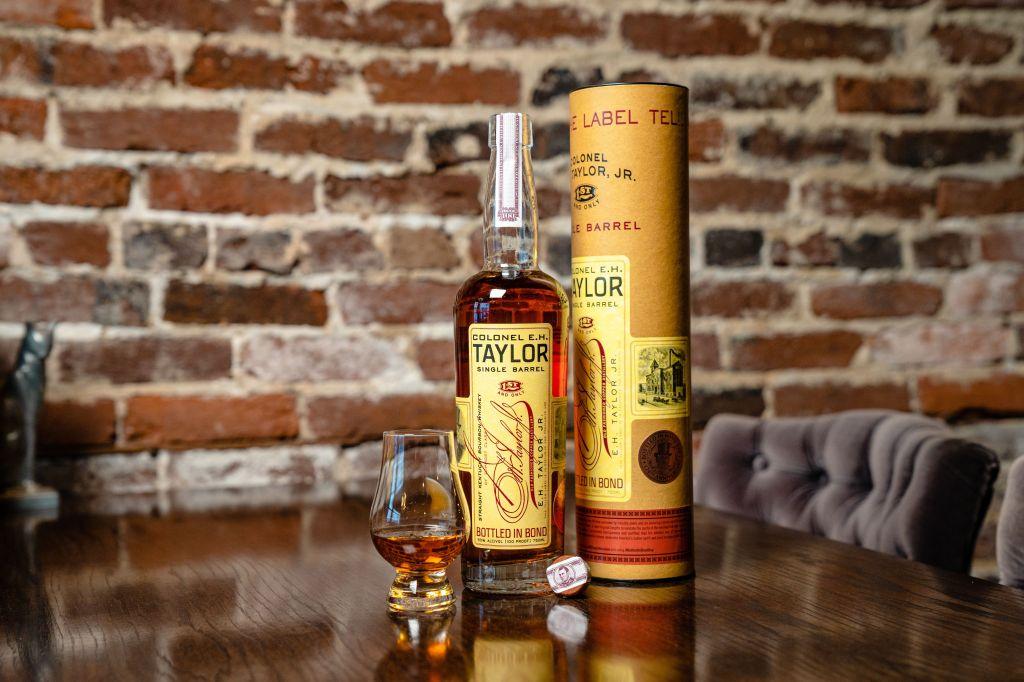 E.H. Taylor Jr Single Barrel 124th Bottled in Bond Day Chris Stapleton release
