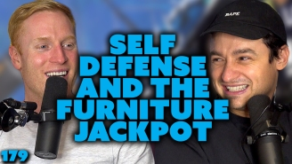 Self Defense And The Furniture Jackpot, On Oops The Podcast