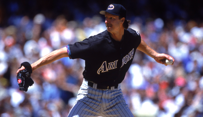 20 Years Ago A Randy Johnson Fastball Blew Up A Bird A Look Back