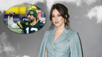 Aaron Rodgers Calls Shailene Woodley The 'Best,' Says Fatherhood Is 'Next Great Challenge'