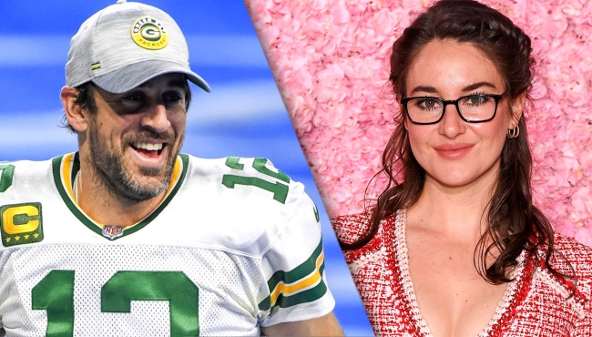 Aaron Rodgers Doesnt Want Shailene Woodley Around Toxic Family