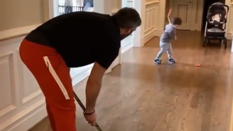 Alex Ovechkin Is Training The Next Great Hockey Star – His 2-Year-Old Son With The Sick Slapshot