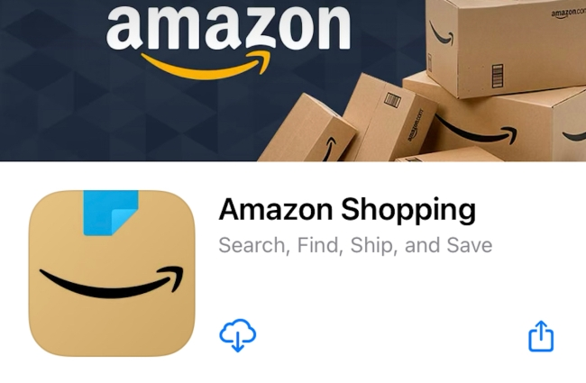 Amazon Changes App Icon Because The Old One Reminded People of Hitler