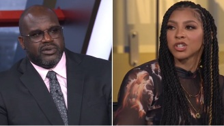 Shaq Suggests The WNBA Should Lower The Rim Which Leads To Extremely Uncomfortable Exchange With Candace Parker