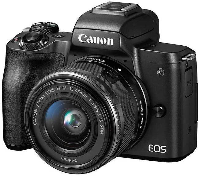 Canon M50 - Best Video Cameras 2021