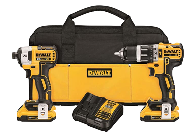 DEWALT Impact and Hammer Drill Combo Kit