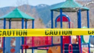 Dad Steals 400-Pound Playground Slide To Attach To Kid's Bunk Bed