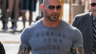 Dave Bautista Shows Off Giant New Tattoo Of 'New Lady' In His Life