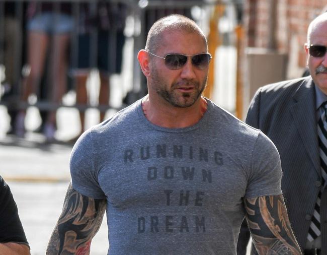 Dave Bautista New Tattoo