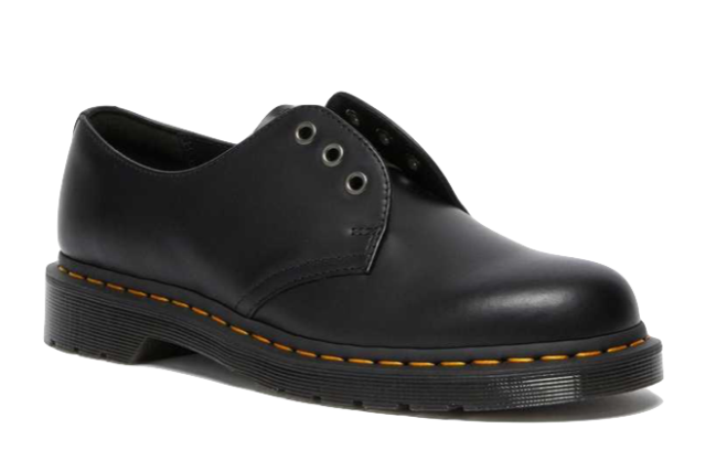 Dr. Martens 1461 Elastic Smooth Leather Oxford Shoes