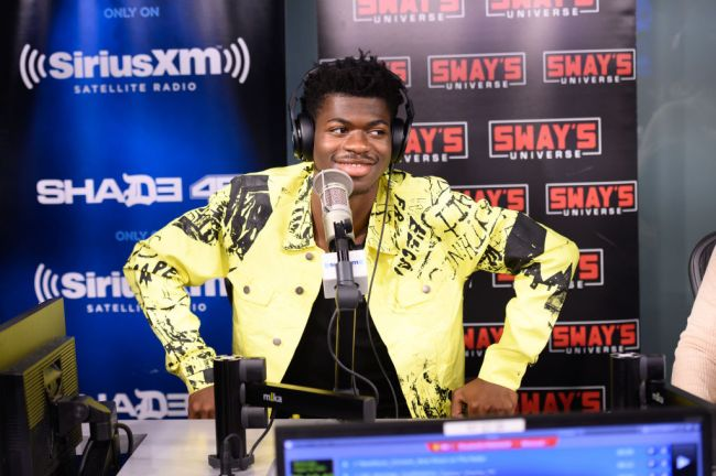 Lil Nas X laughs at Gen Z trying to cancel Eminem for controversial old lyrics.