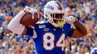Florida TE Kyle Pitts Put On A Freakish Performance During His Pro Day, Reminding Everyone That He Was Made In A Lab