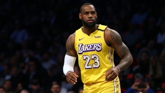 LeBron James' Son Bronny Takes A Shot At The Brooklyn Nets Superteam After LaMarcus Aldridge Signing