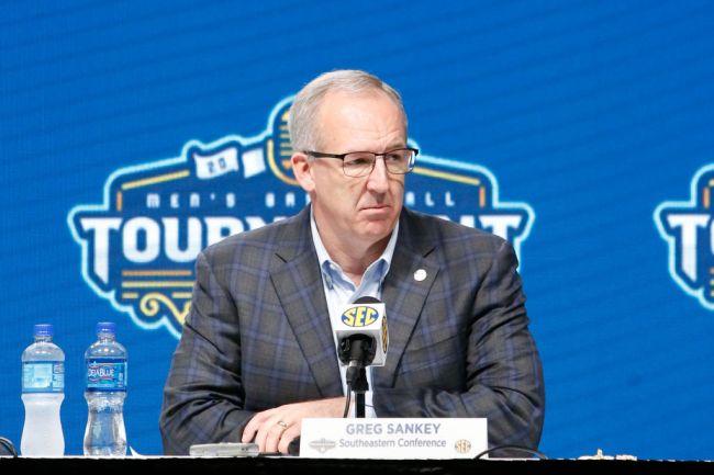 Greg Sankey SEC