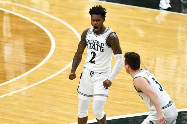 Rocket Watts Michigan State Basketball