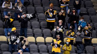The Penguins Photoshopped Masks Onto Their Fans And People Are Very Upset On Social Media